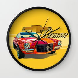 Chevy Camaro Wall Clock