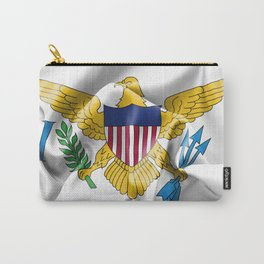 United States Virgin Islands Flag Carry-All Pouch