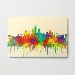 Honolulu, Hawaii Skyline - SG Metal Print