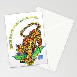 Wild Animals Stationery Cards