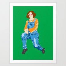 Mum, 2013. Art Print