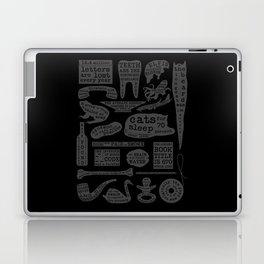 Useful Facts (On Black) Laptop & iPad Skin