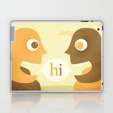 hi Laptop & iPad Skin