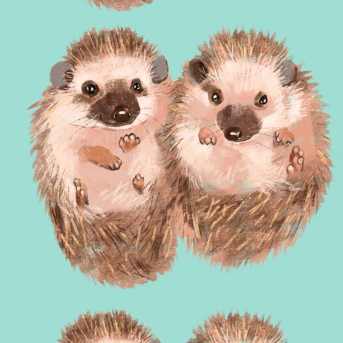 Twin Hedgehogs Leggings