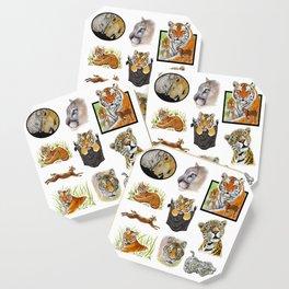 Big Cat Sticker Pack 1 Coaster