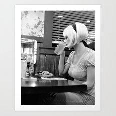 diner night Art Print