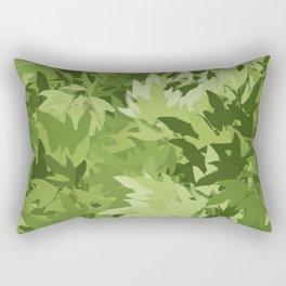 Garden Greenery Rectangular Pillow