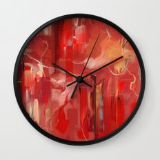 Red Carpet Wall Clock