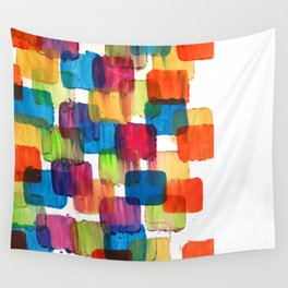 Colorful Bubblewrap POSTER Watercolor ART ABSTRACT Print by Robert R Splashy ART Wall Tapestry