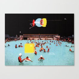 Pool Party Canvas Print