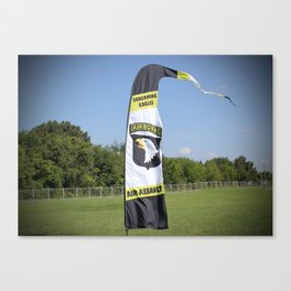 101st Airborne Screaming Eagles Canvas Print