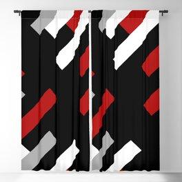Diagonal stripes Blackout Curtain