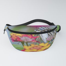 Southern swallowtail or zebra butterfly Fanny Pack