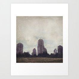 Urbania Six Art Print