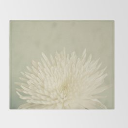 Pale Beauty Throw Blanket