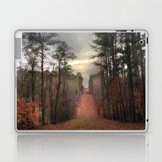Surreal Autumn Fall Nature Trees Path Woodland Landscape Laptop & iPad Skin