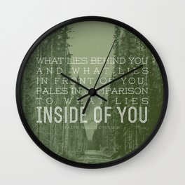 Inside of You Wall Clock