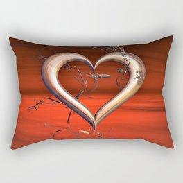 For the Love of Red Rectangular Pillow