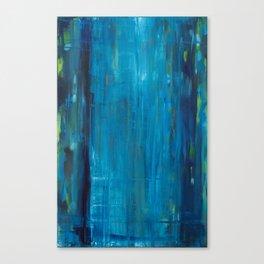 blue vertical Canvas Print