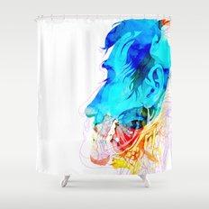 Anatomy Quain v2 Shower Curtain