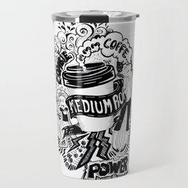 An artowork about coffee Travel Mug