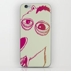 Don't look a gift horse in the mouth iPhone & iPod Skin