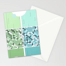 Springtime pastel pattern Stationery Cards