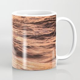 Girls catching a wave together Coffee Mug