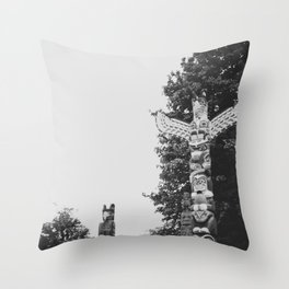 STANLEY PARK, VANCOUVER Throw Pillow