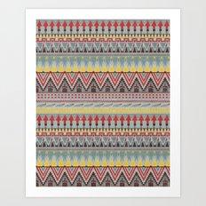 WHISKY AZTEC  Art Print