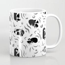 Stella & Millie Cuddles BW Coffee Mug