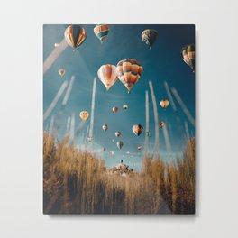 Sky Full of Air (Balloons) Metal Print