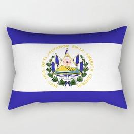 El Salvador flag emblem Rectangular Pillow