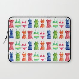 Evolution of the swimsuit pattern Laptop Sleeve