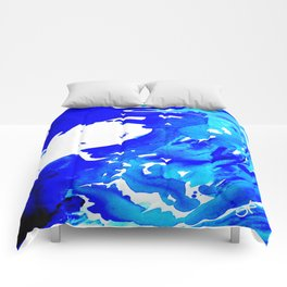 Save The Water Watercolour Comforters