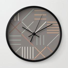 Geometric Shapes 06 Wall Clock