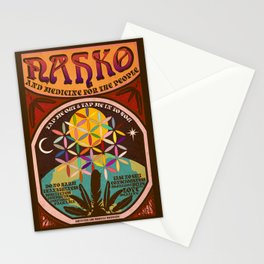 Nahko & Medicine for the People | Fan Made Poster Stationery Cards