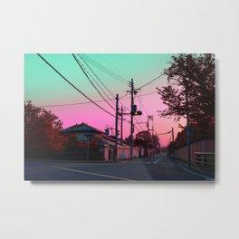 Kyoto Mornings Metal Print