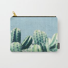 Cactus & Teal #society6 #decor #buyart Carry-All Pouch