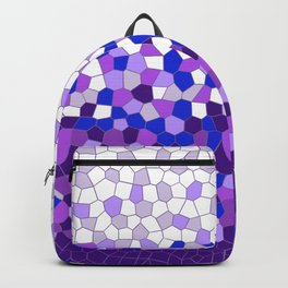 Purple Collage Backpack