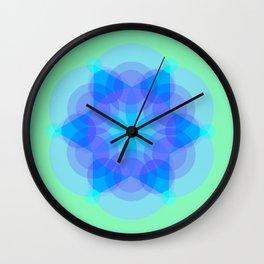 Mandala kaleidoscope Wall Clock
