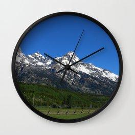 Fascinating Nature Wall Clock