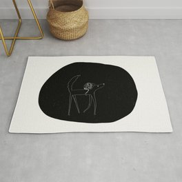 Wolfback Reading Rug