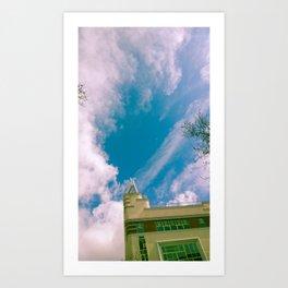 Va de cielos Art Print