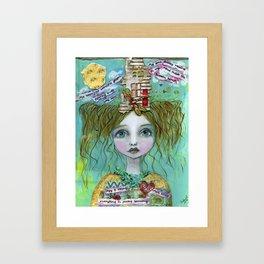 """My House"" Framed Art Print"