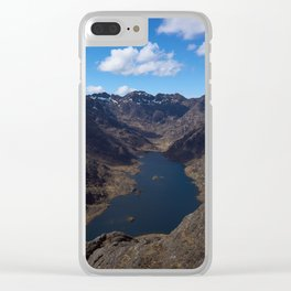 Loch Coruisk and the Cuillin Ridge Clear iPhone Case