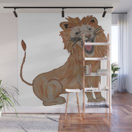 King of the Roar - Lion Wall Mural