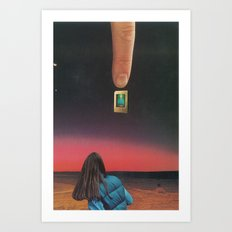 Is This Real? Art Print