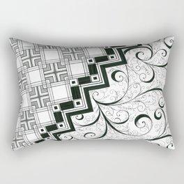 Right-Brain-Left-Brain Rectangular Pillow