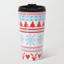 Ugly Christmas Design Travel Mug